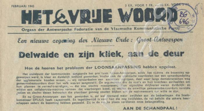 Auszug aus einer geheimen Zeitung