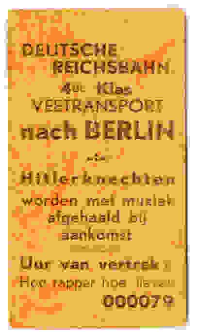 Viehtransport nach Berlin – Hitlers Helfer werden bei der Ankunft mit Musik begrüßt