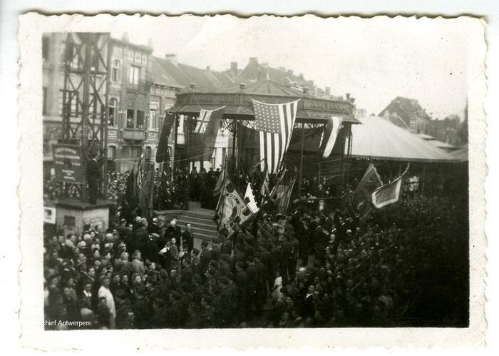 Am 8. Mai 1945 wurde in Hoboken groß gefeiert