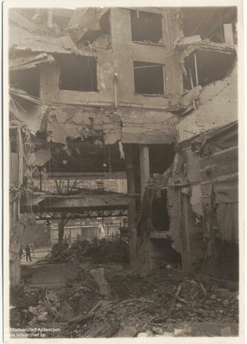 """Das Kino """"Cinema Rex"""" wurde in eine Ruine verwandelt"""