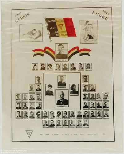 Organogramm mit Fotos