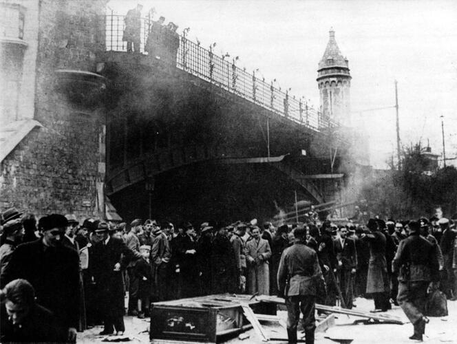 Gewalt gegen Juden am Ostermontag 1941 - © Sammlung SegeSoma/Reichsarchiv